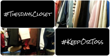 #TuesdaysCloset #KeepOrToss